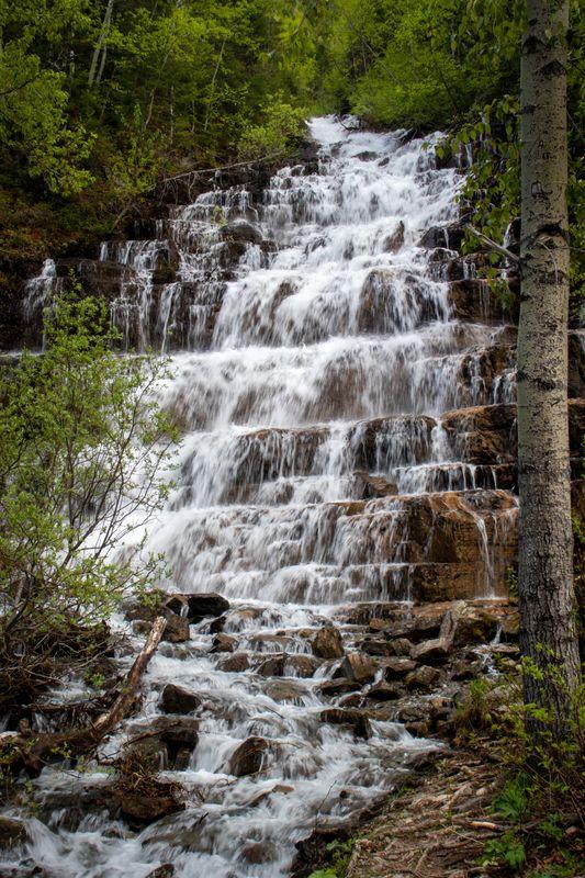 Silver Staircase Falls (GNP)