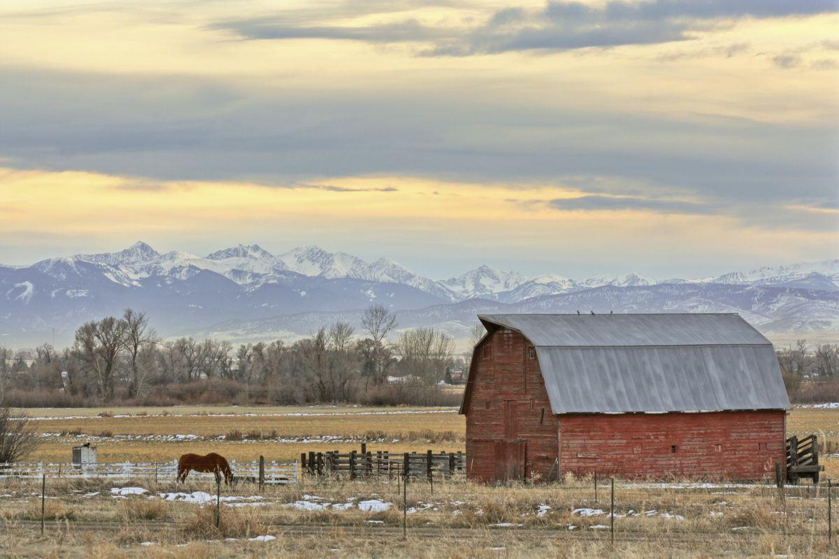 Classic Montana Sunset