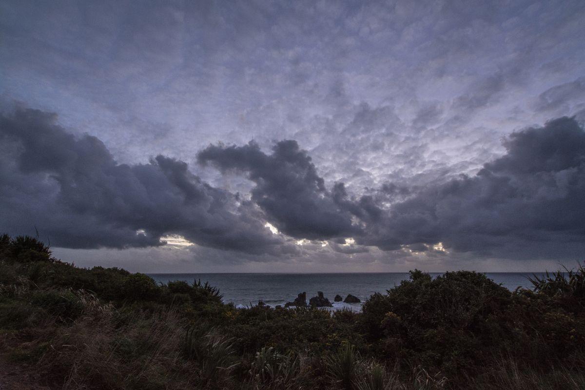 Cape Foulwind no sunset