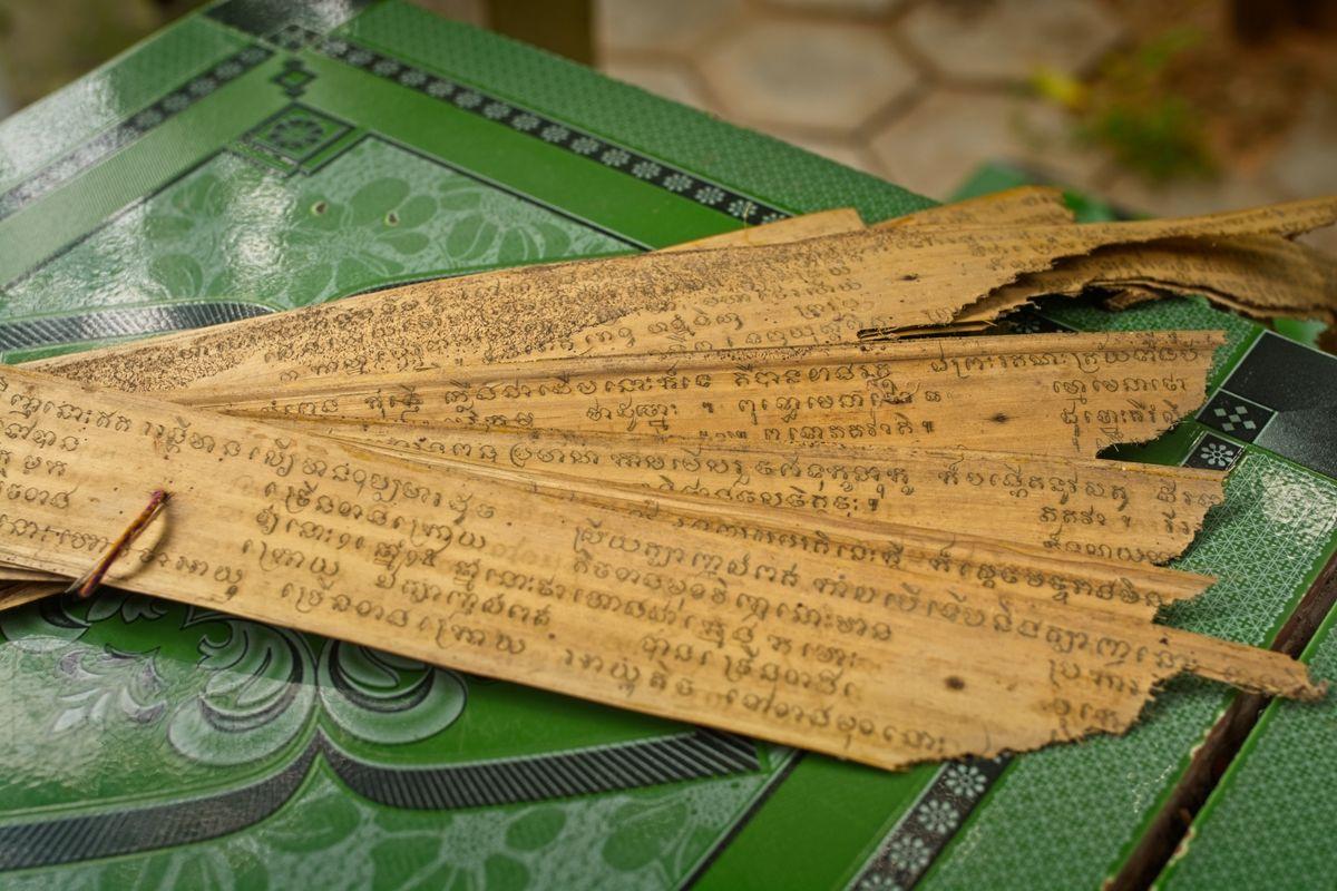 Lo Lei Monastery – ancient scriptures