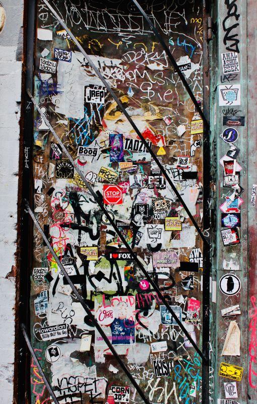 Urban Graffiti Stickers