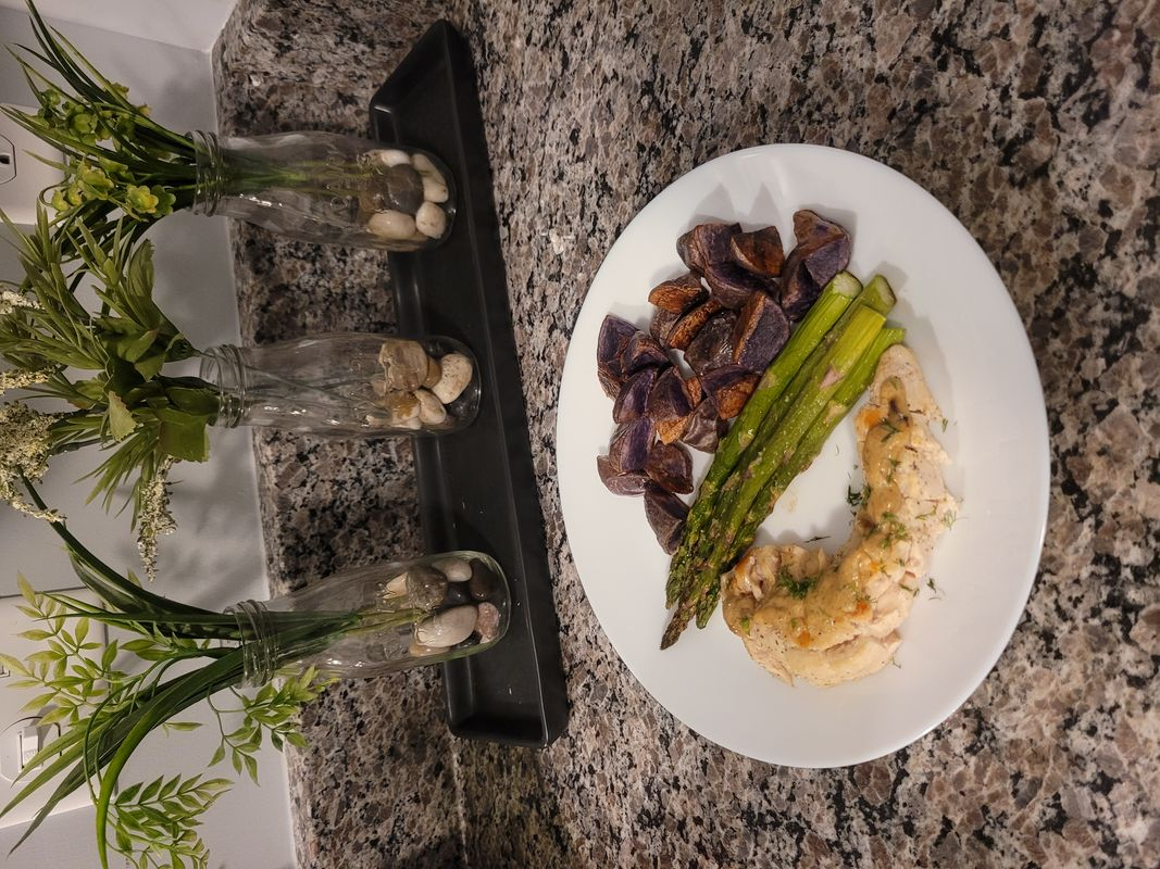 Perfectly Plated - Creamy Dill Chicken