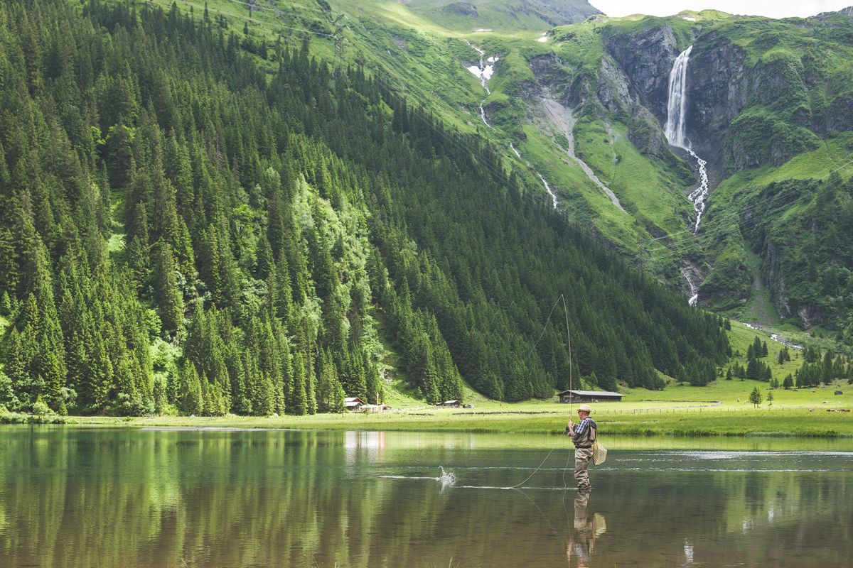 Very beautiful place for fishing