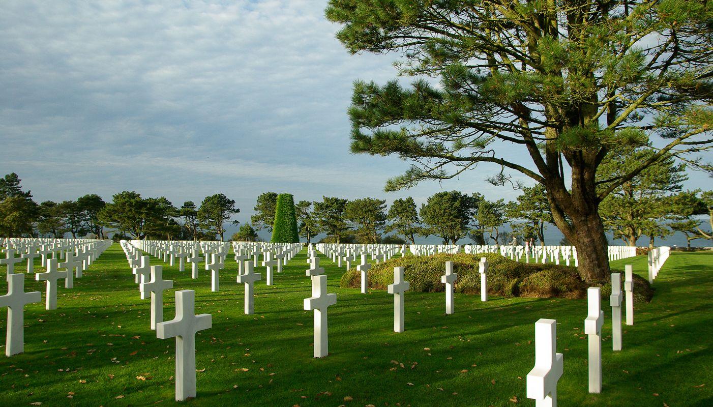 World war II deaths in normandy