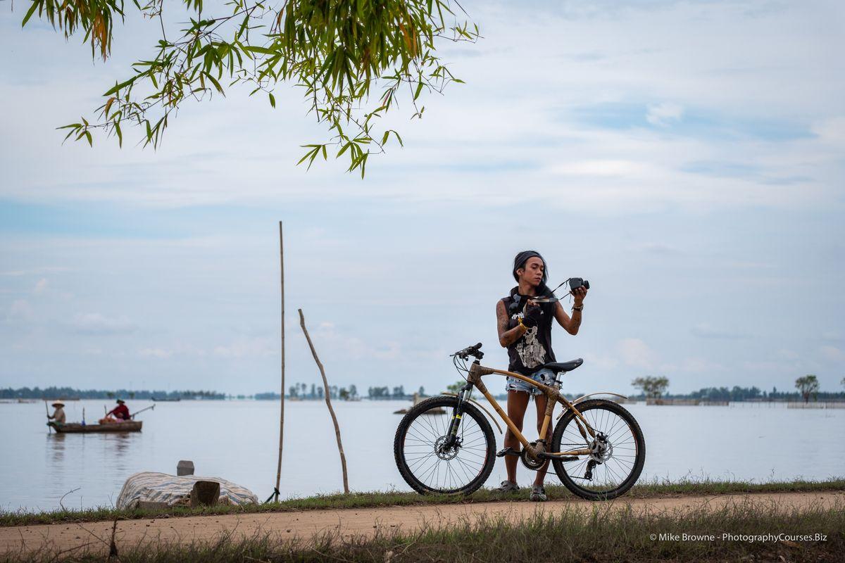 Melissa Models Bamboo Bike