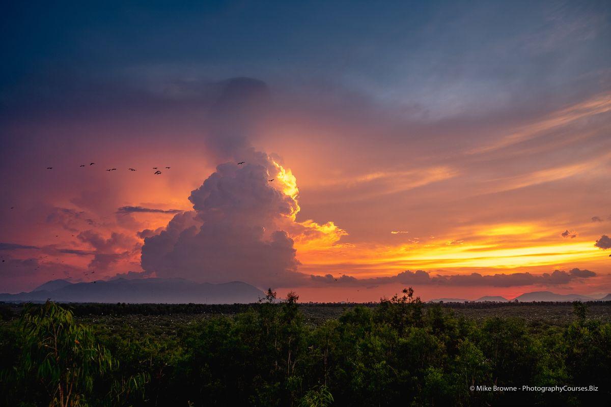 Tra Su Sunset