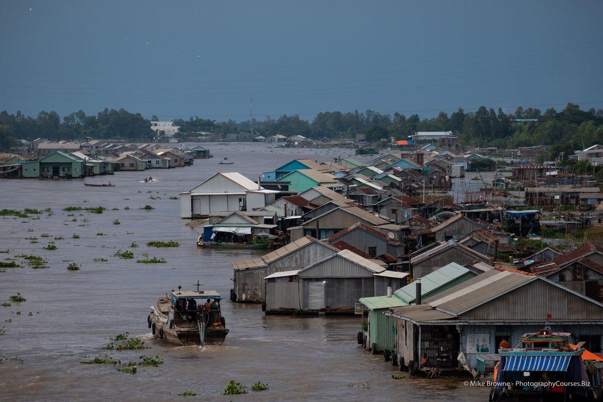 Mekong River Chau Doc