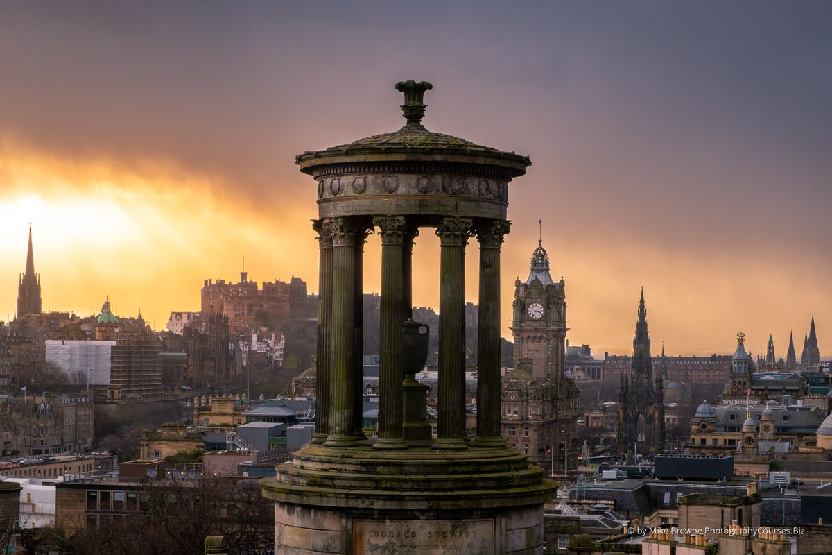 Storm Clouds Over Edinburgh