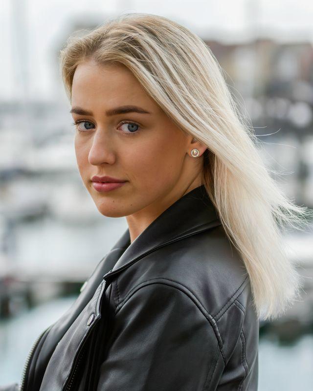 Model Photo Shoot At Ocean Village, Southampton