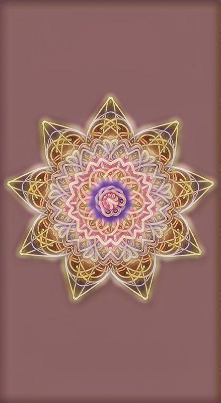 Golden Glow Mandala Design ~ 420211