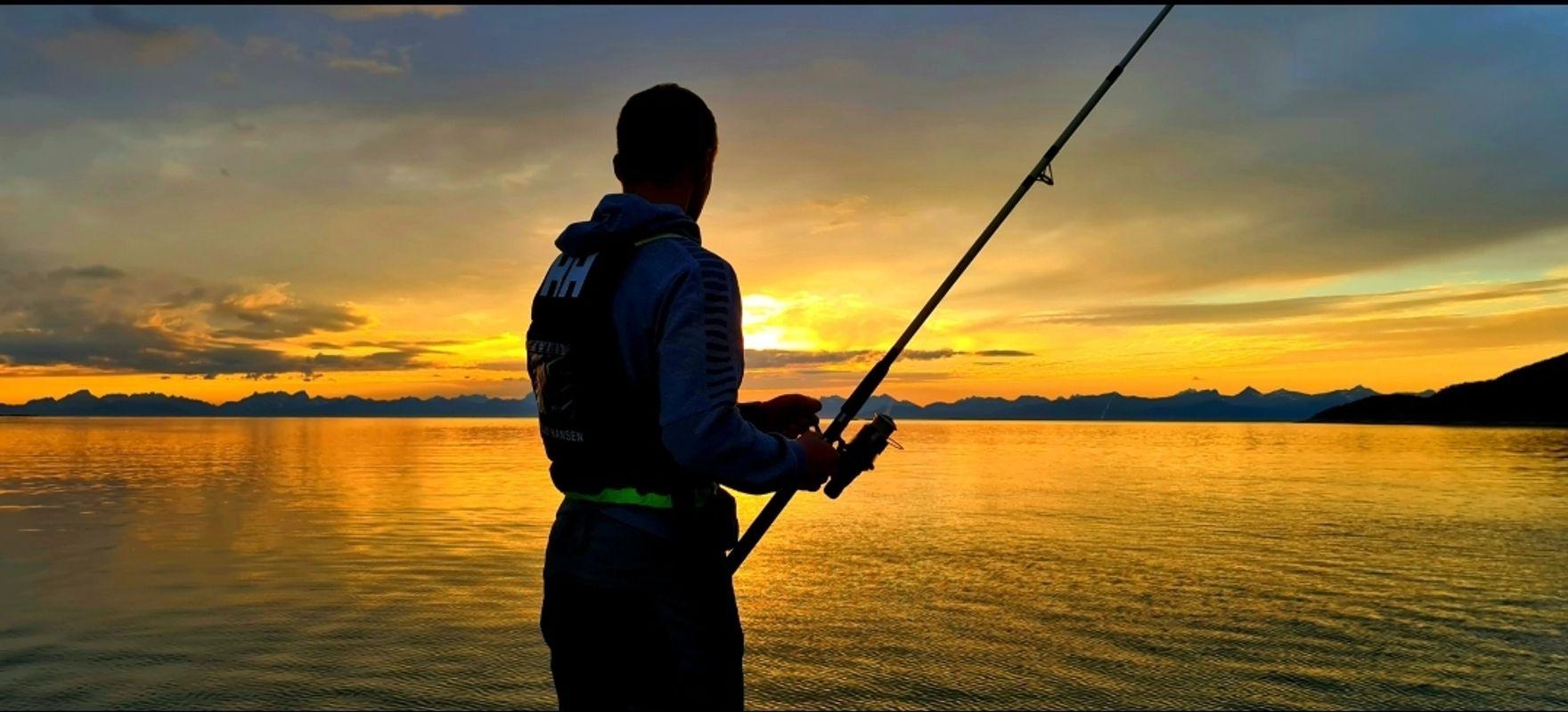 Midnight sun fisher