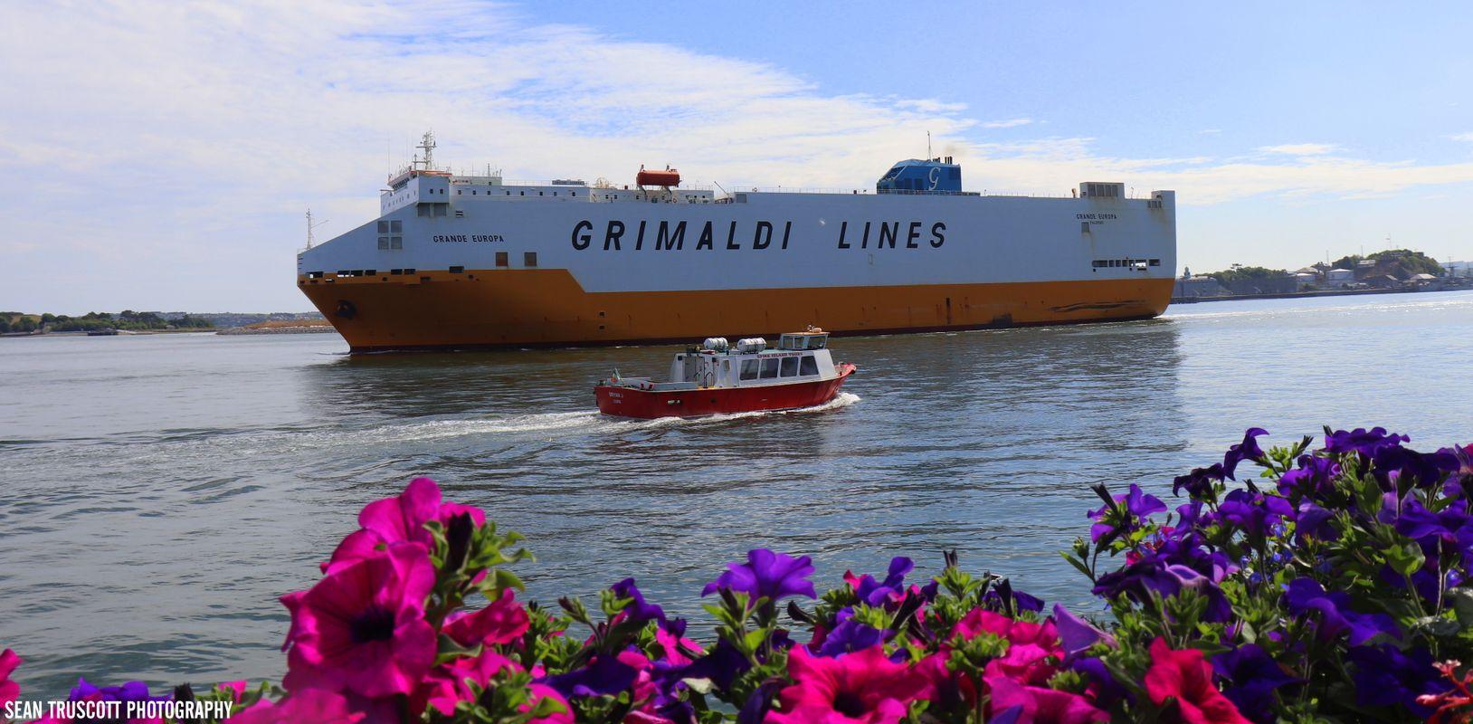 Grimaldi Lines Ship