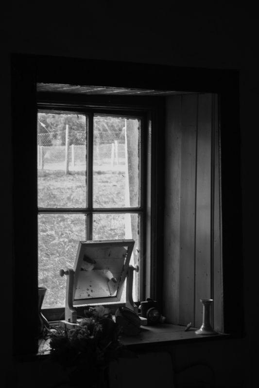 Through the Window Pane