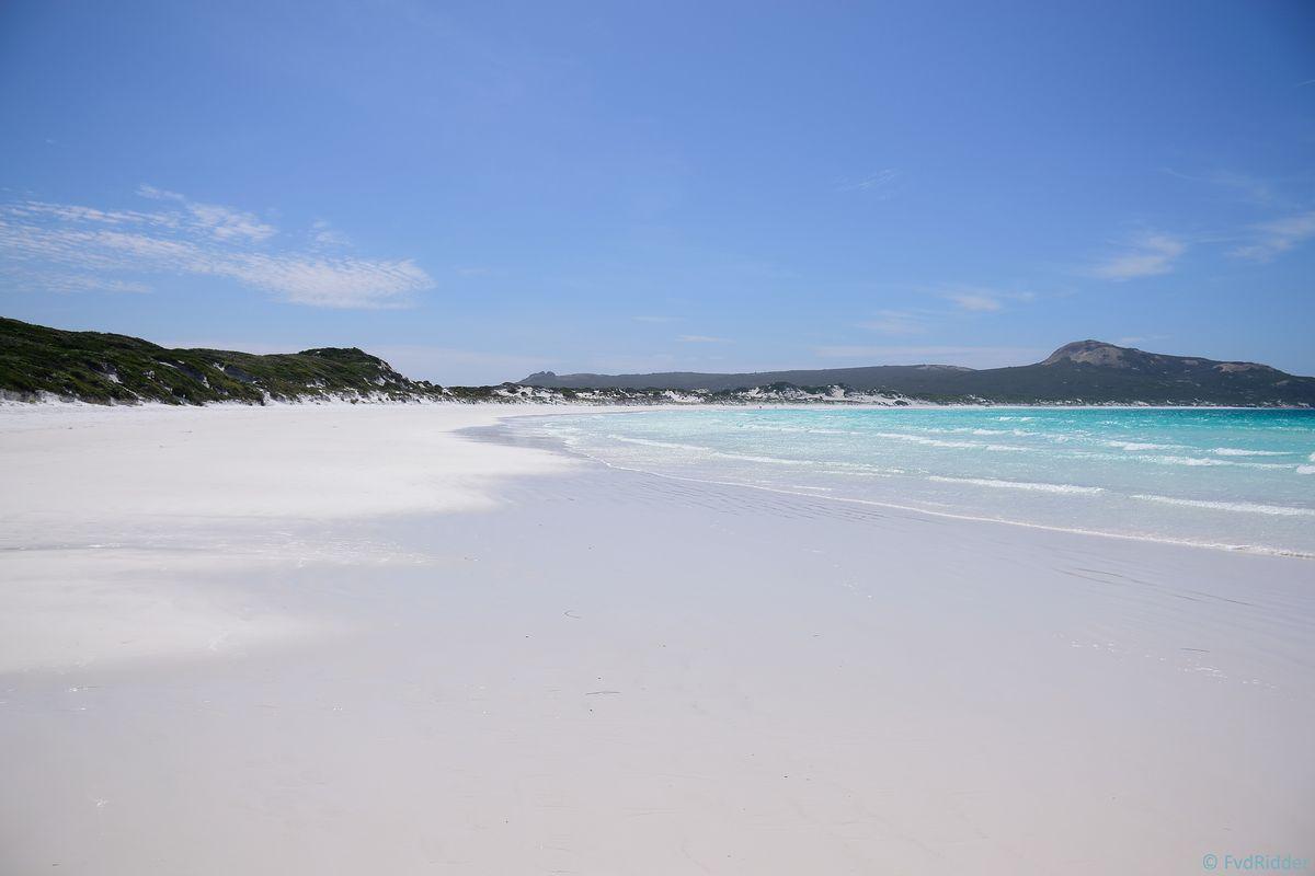 Pristine beach at Lucky Bay