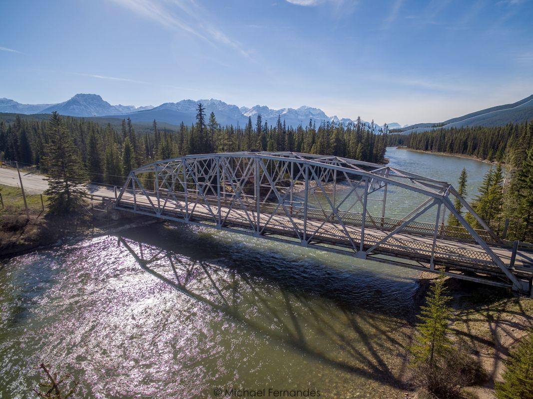 Bridge over the Bow River