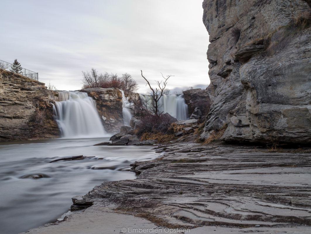 Lundbreck Falls near Crowsnest Pass