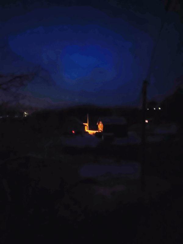 Norwegian night view