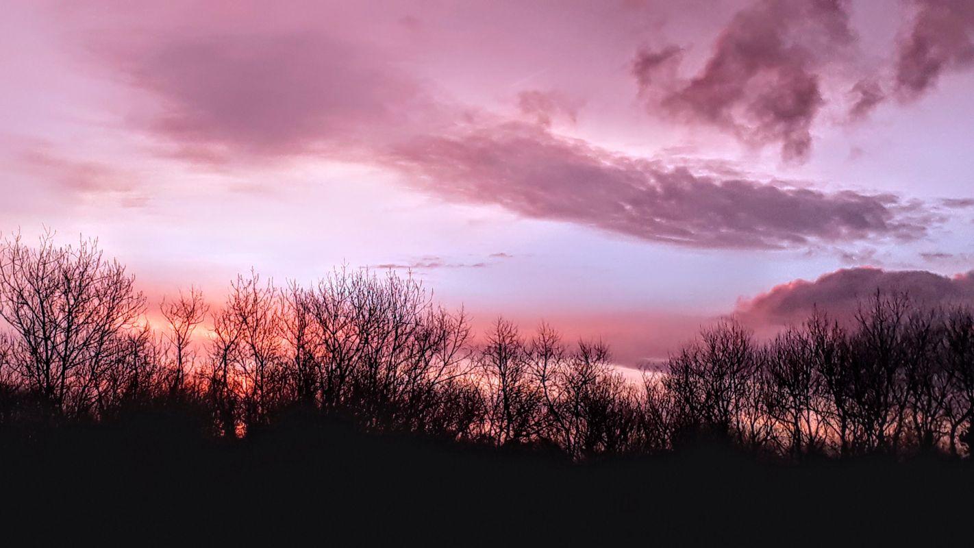 Sunset in Oostduinkerke, Belgium