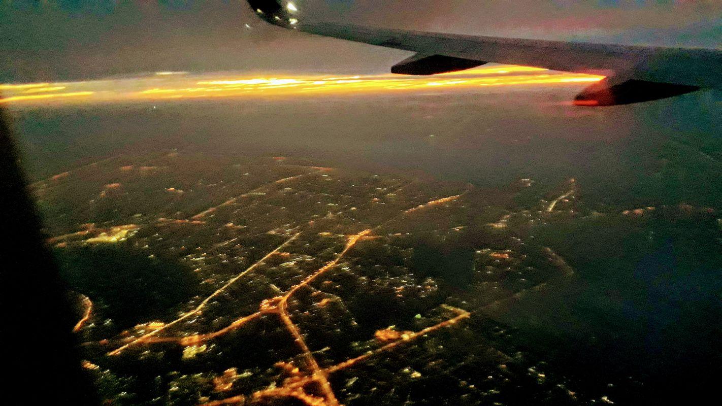 Flying from Bangkok to Bali