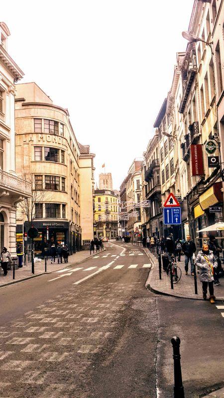 Schildknaapstraat, Brussels, Belgium