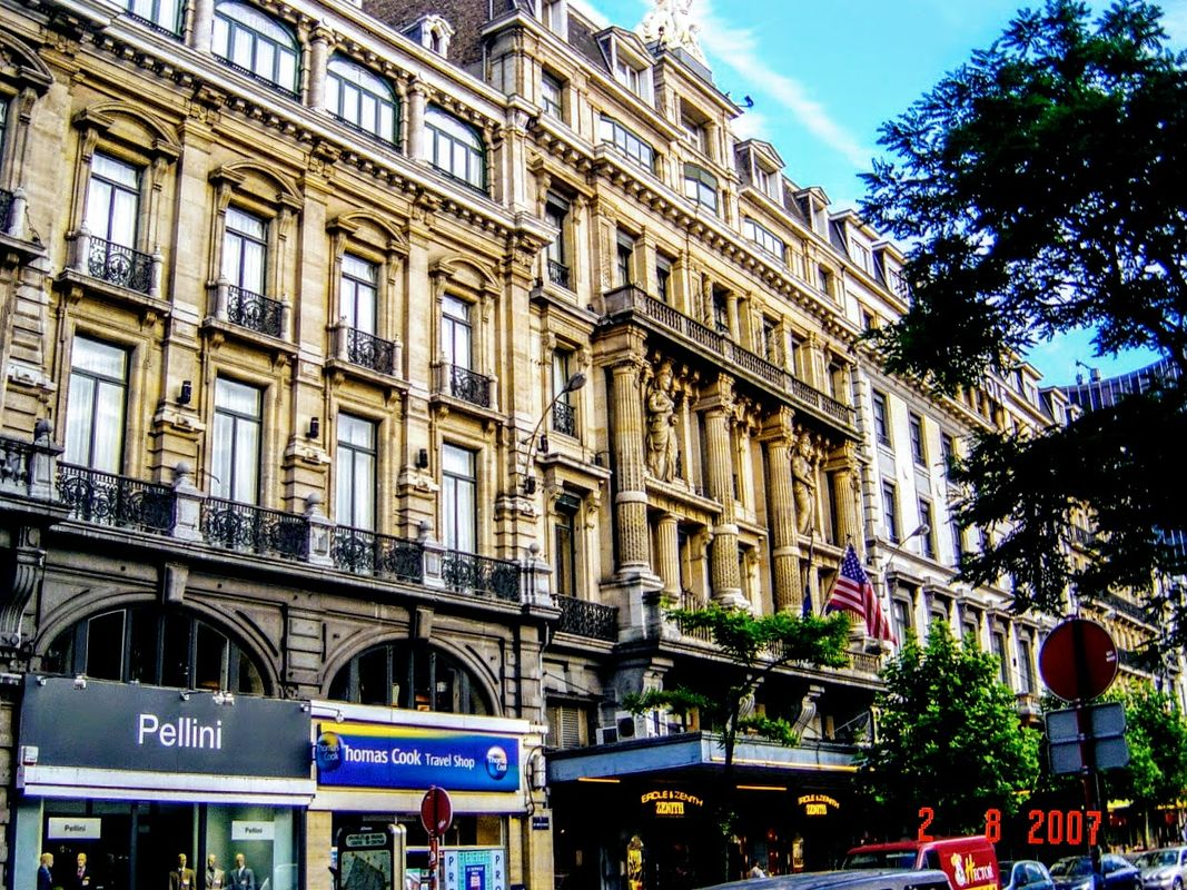 The famous Metropole Hotel in brussels