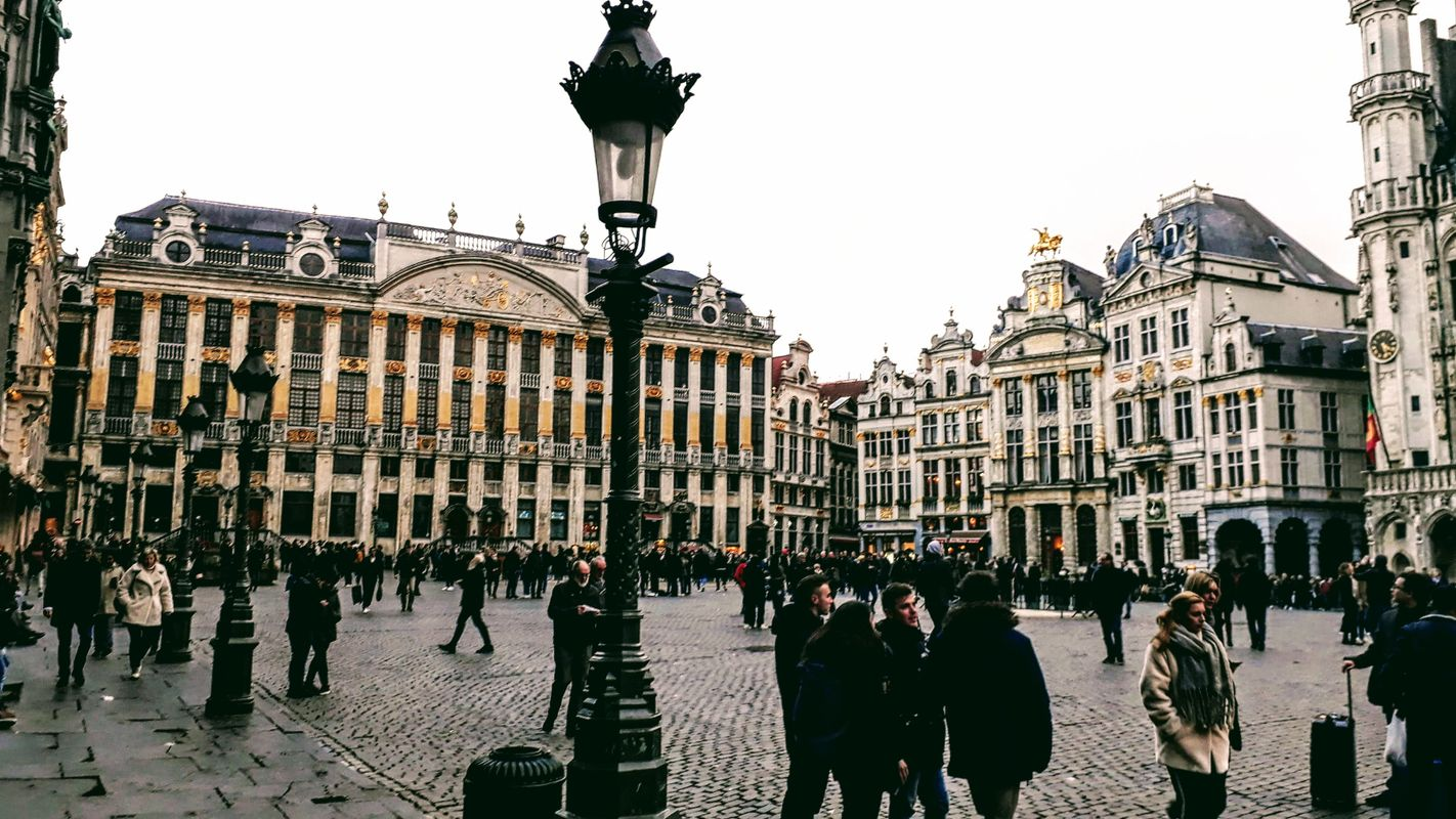 The Grand Place or Grote Markt in Brussels, Belgium