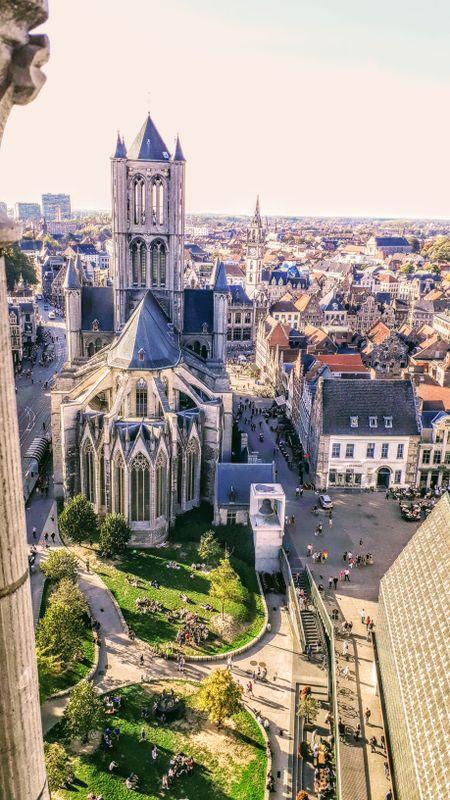 Sint Niklaaskerk, Gent, Belgium