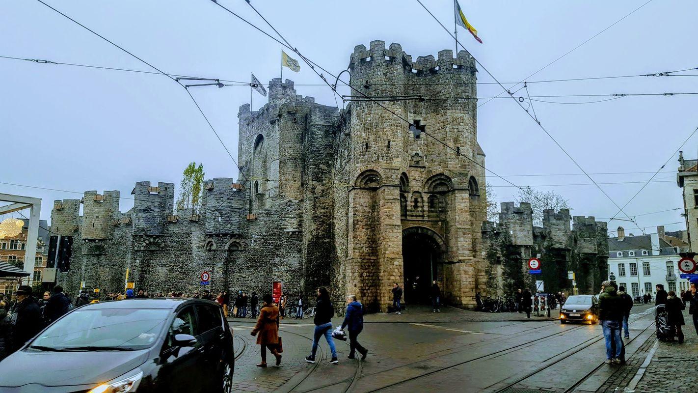 The Gravensteen Castle in Gent