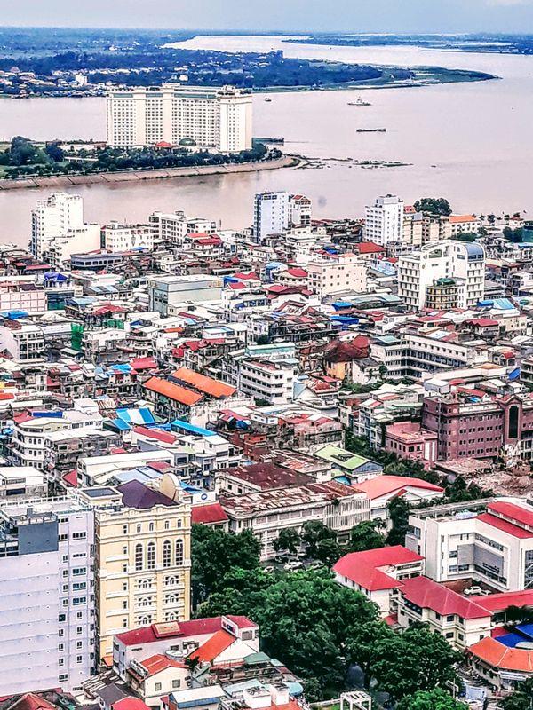 City view of Phnom Penh