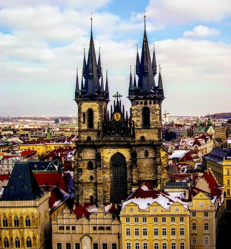 The Two Towers in Prague...