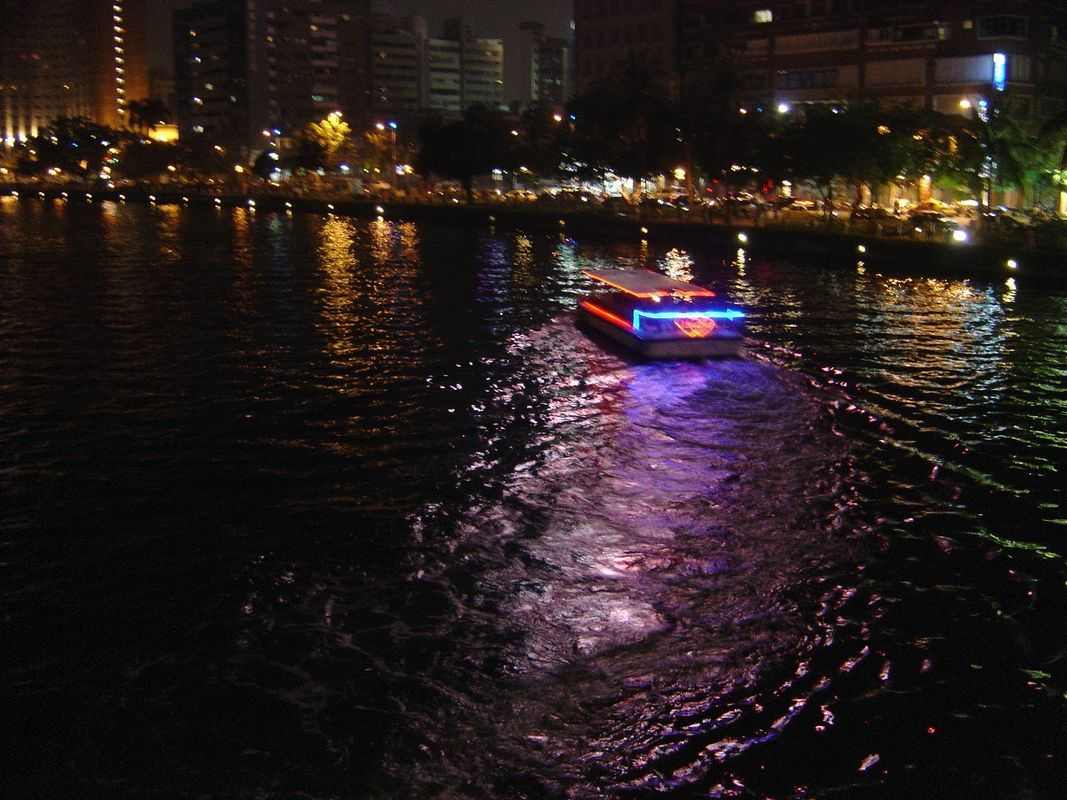 The Love River in Kaohsiung