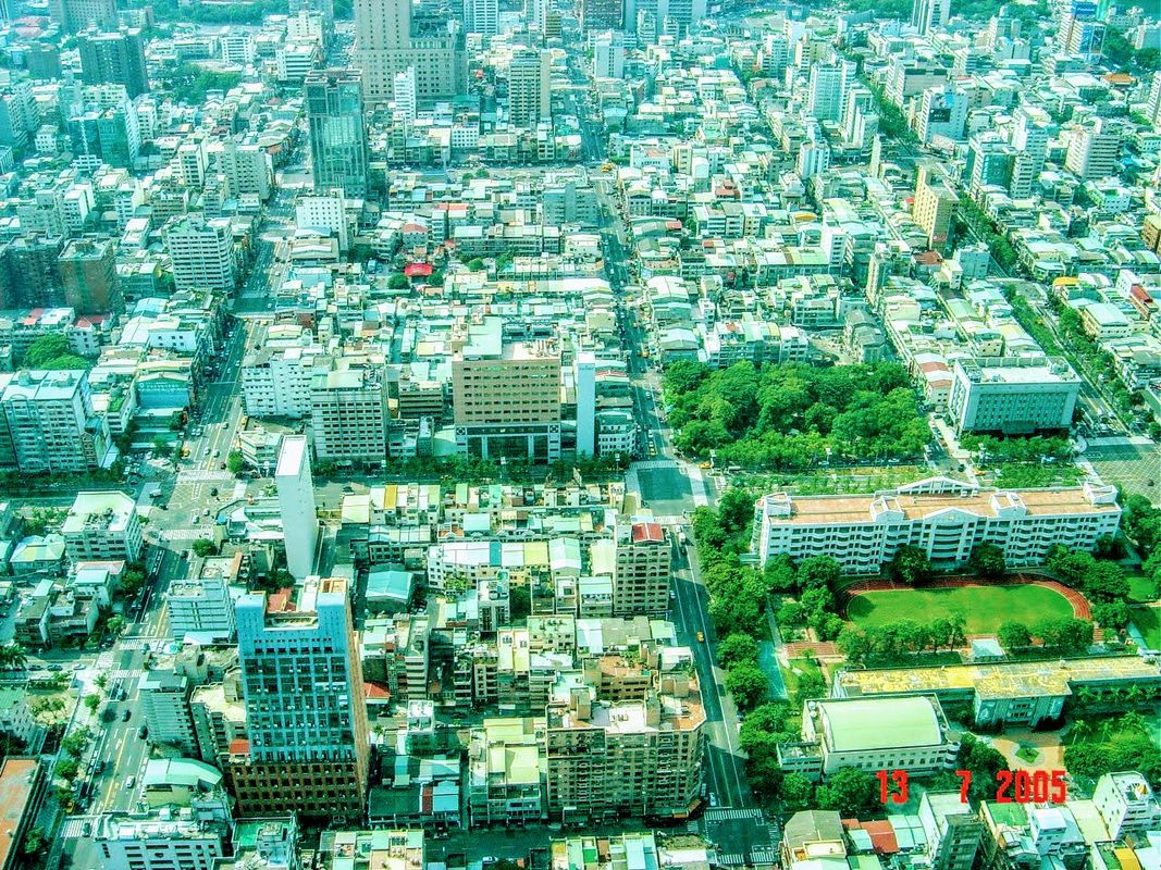 Kaohsiung from the sky