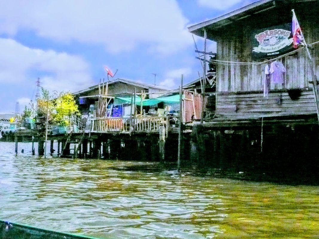 The Chao Praya river in Bangkok