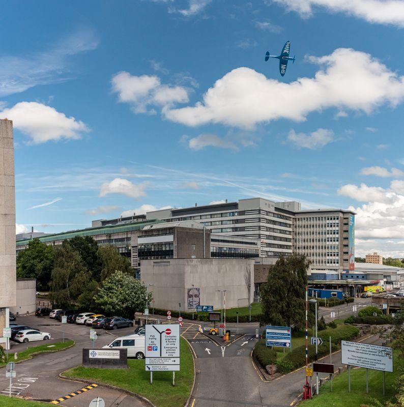 Thank U NHS Spitfire University Hospital of Wales