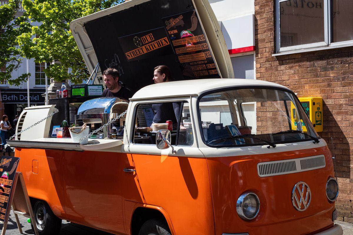 Bridgend Roots Festival Food Vendor.