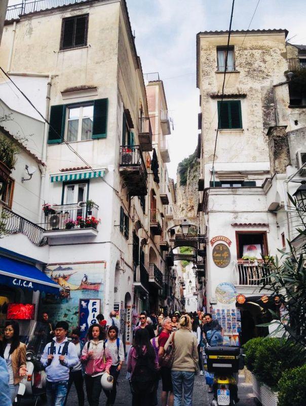 Amalfi Streets