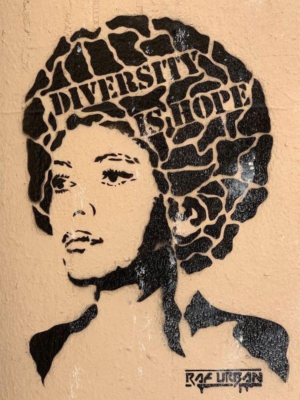 Street Art in Montmartre: Diversity is Hope