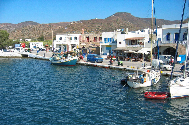 Leaving Katapola (Amorgos, Greece)