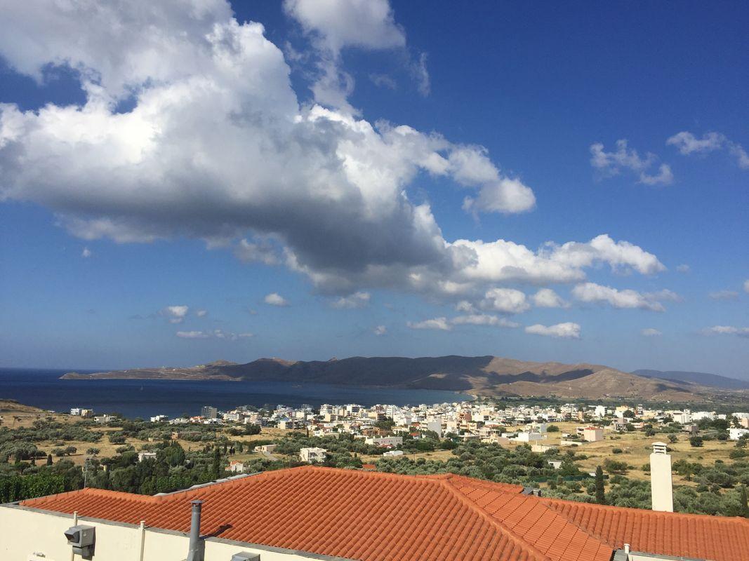 Clouds over Karystos...