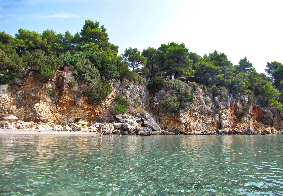 An almost secret beach