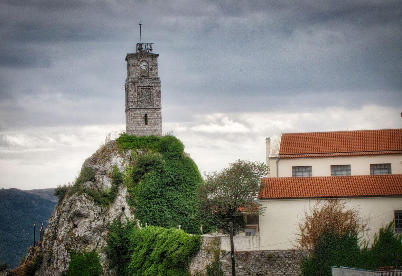Bell tower of Arachova