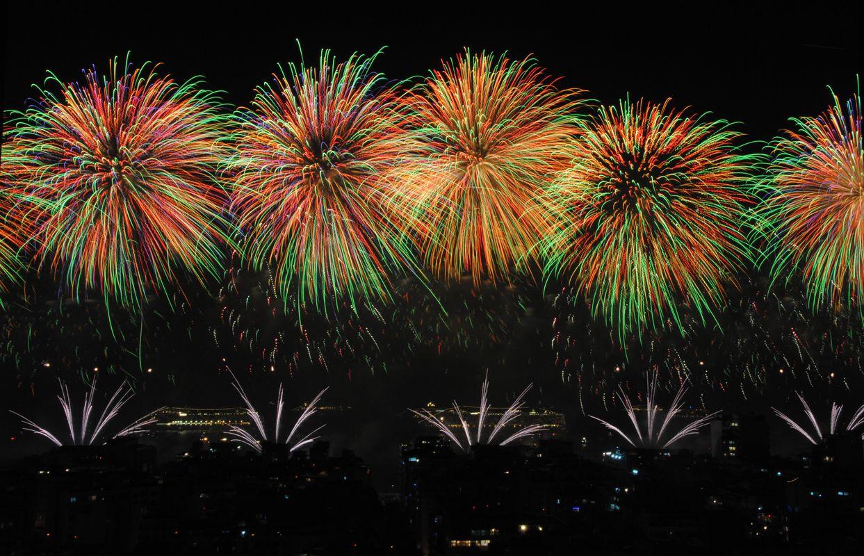 New Year Fireworks!!