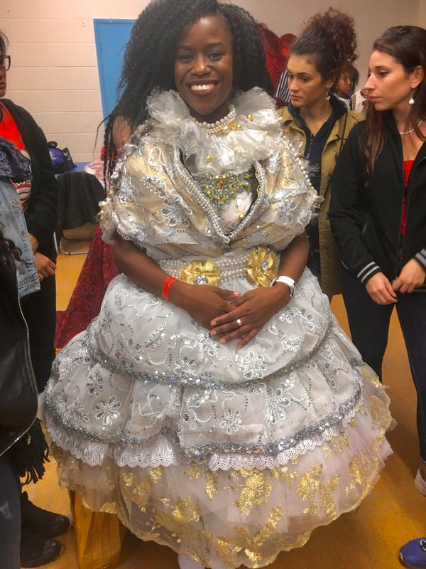Costume finishing and fittings !A behind the scenes look of the Notting Hill Carnival 2018   Part 2