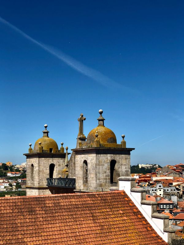 Rooftop Architecture  Porto  Portugal that charmed me !