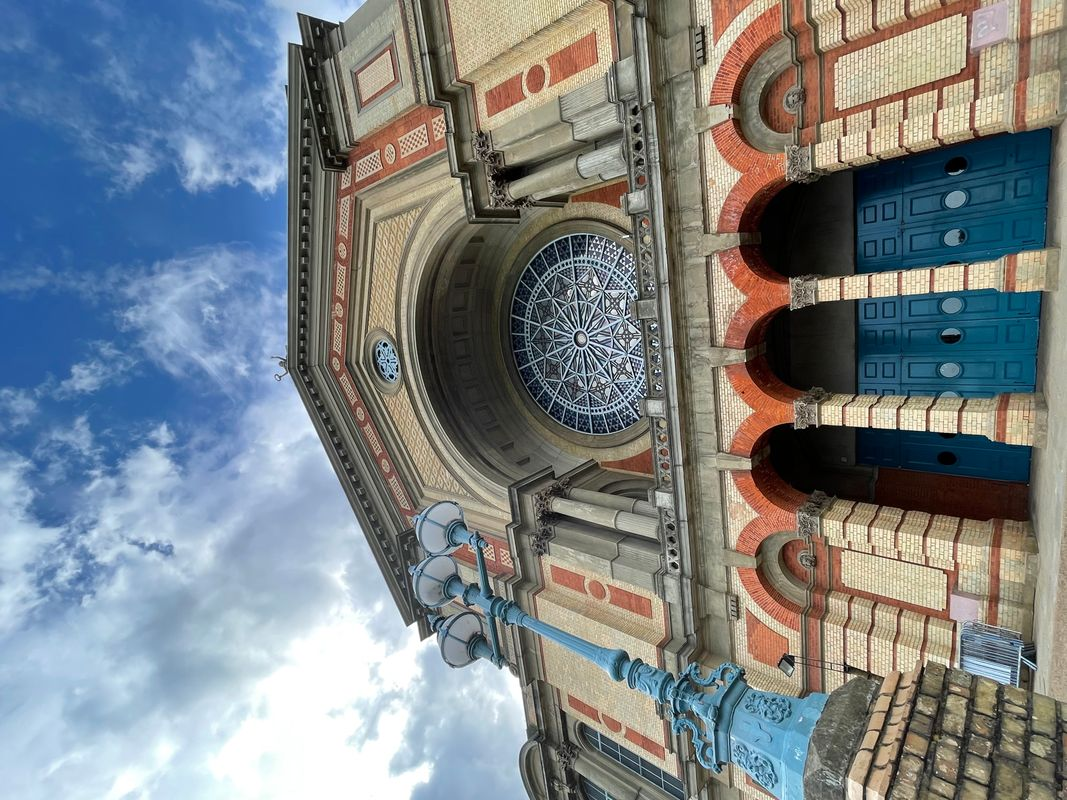 Alexandra  Palace  The Rose Window