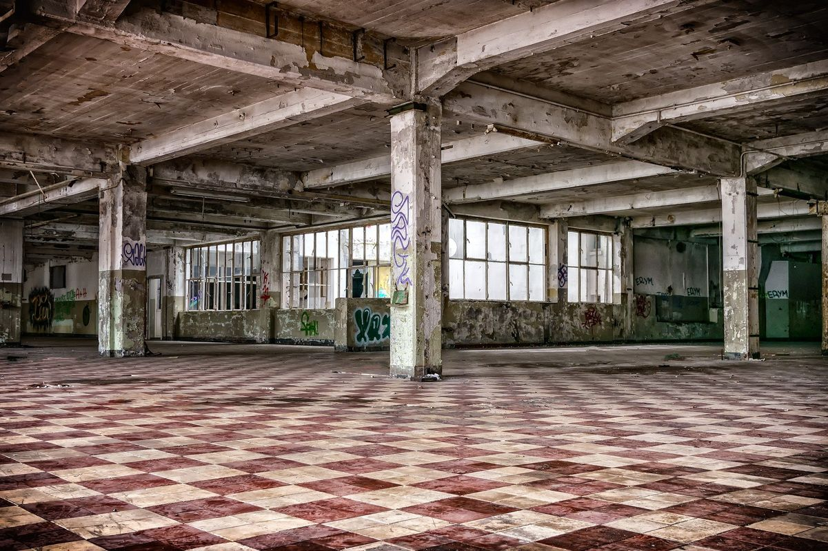 Lost Place Hall
