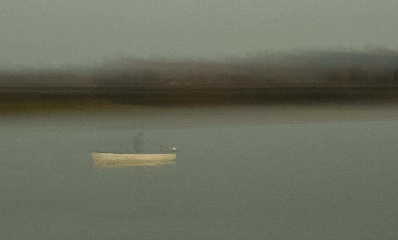 Ghostly fisherman