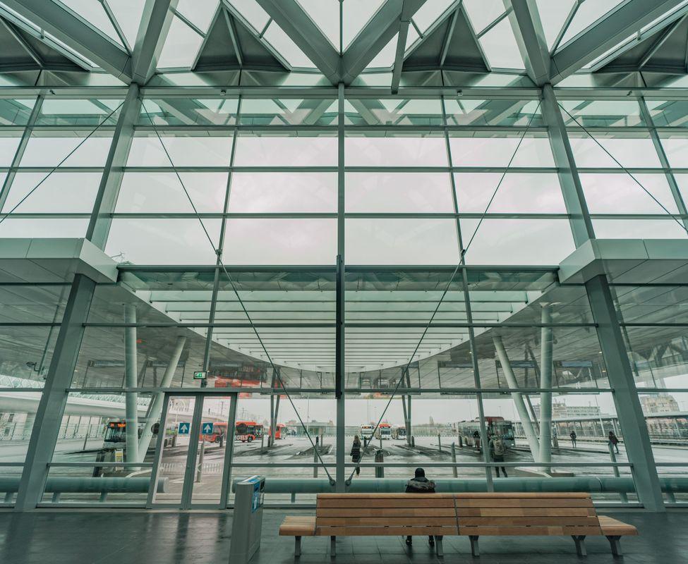 A modern trainstation 1