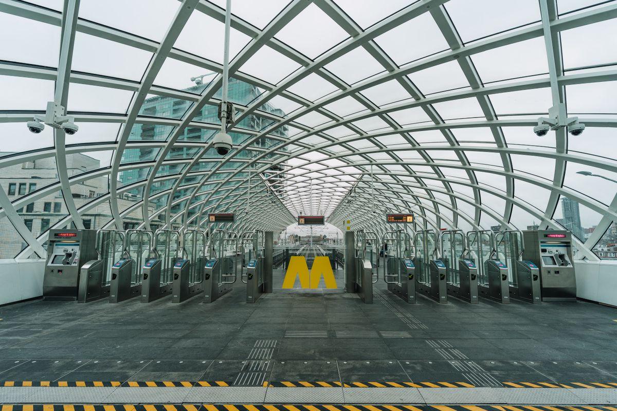 A modern trainstation 2