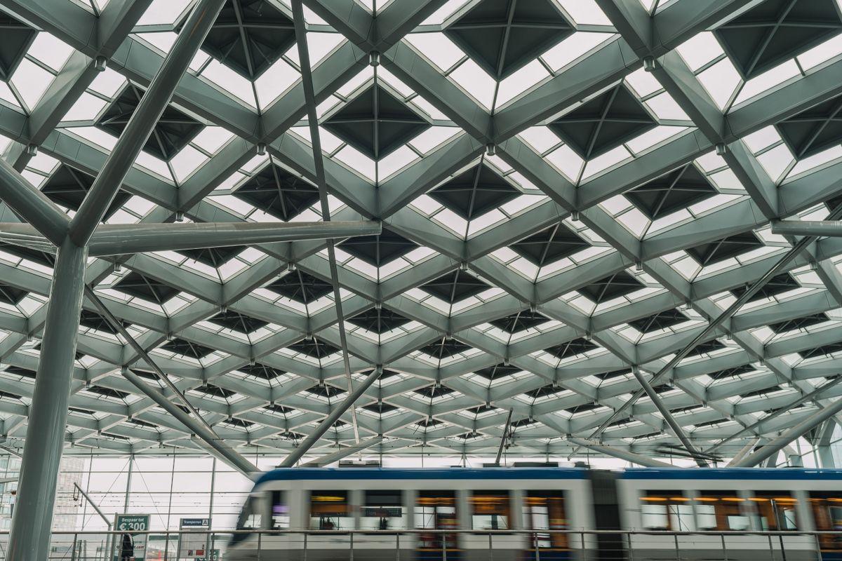 A modern trainstation 3